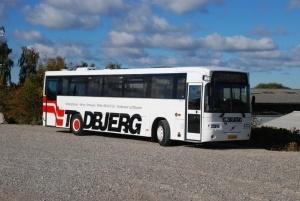 Skolebusser udlejes i Østjylland