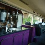 VIP bus med luksus forplejning