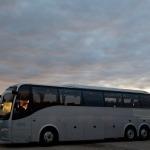 VIP bus med diskret udsende