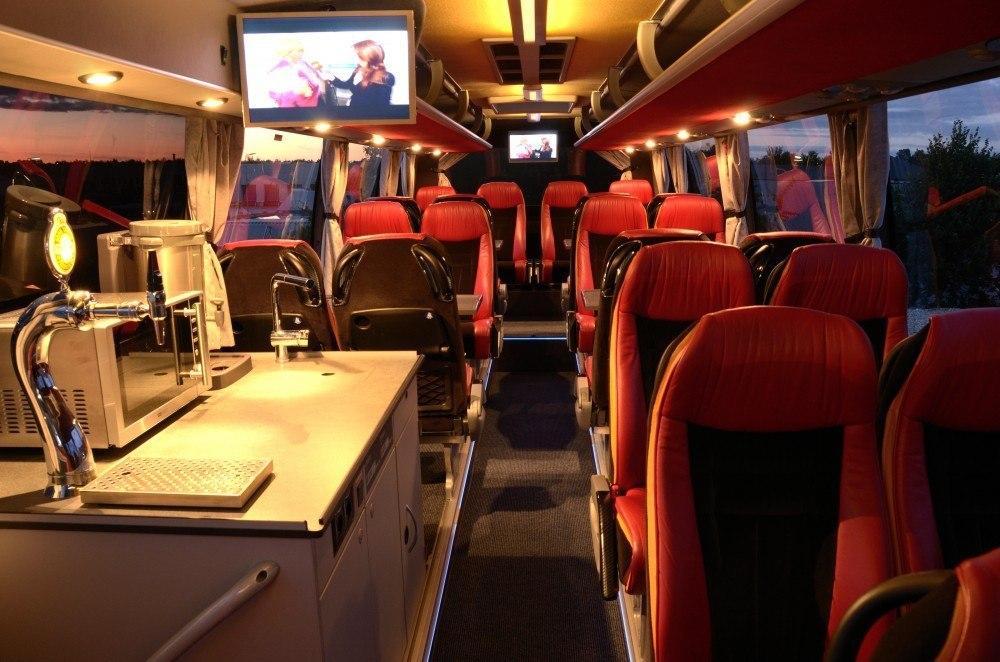 AGF bussen - Luksus bus