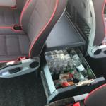 Drikkevarer i minibus